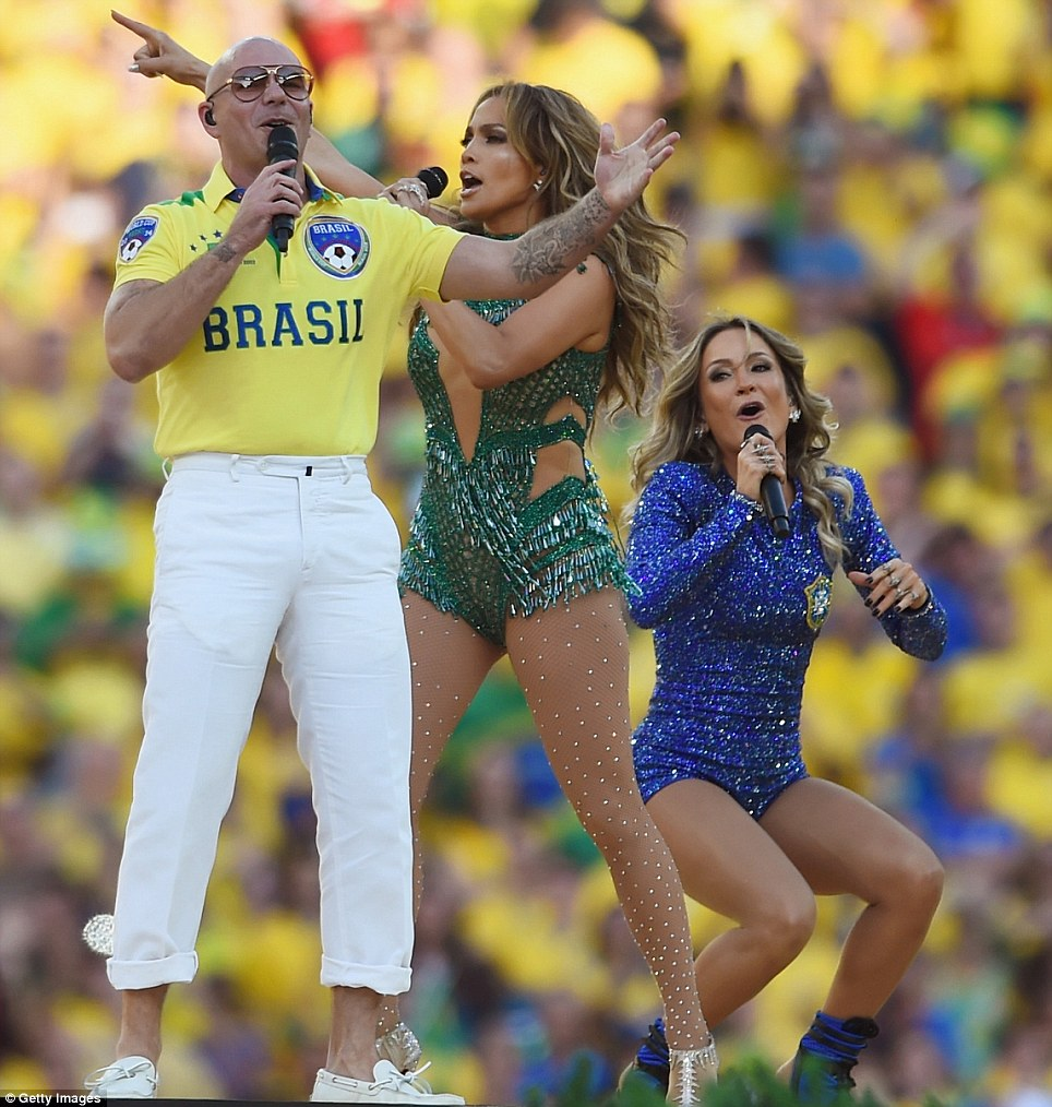 World Cup 2014 Brazil Opening Ceremony