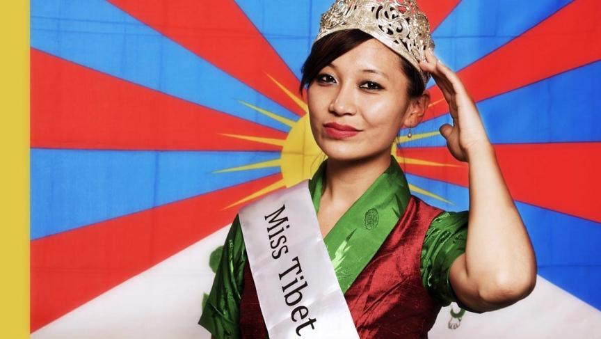 Miss Tibet Tenzing Lhamo