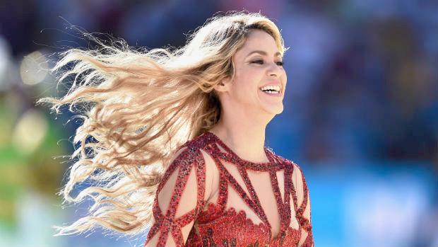 Shakira Closing Ceremony