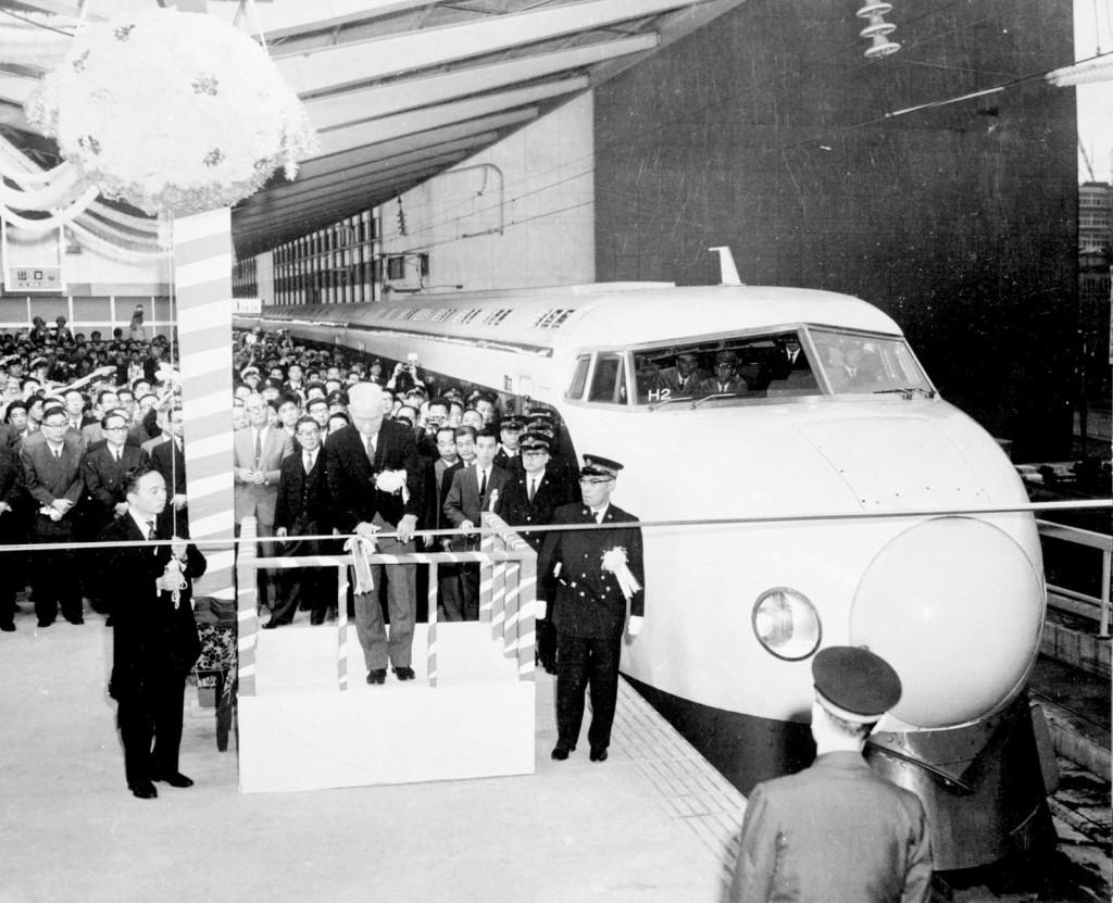 First Shinkansen 1964