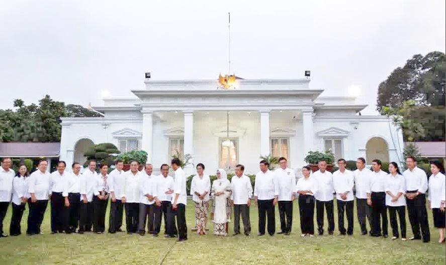 Jokowi New Cabinet