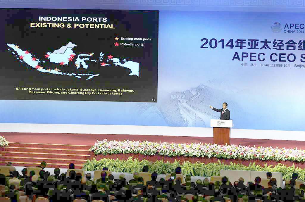 Joko Widodo APEC Speech