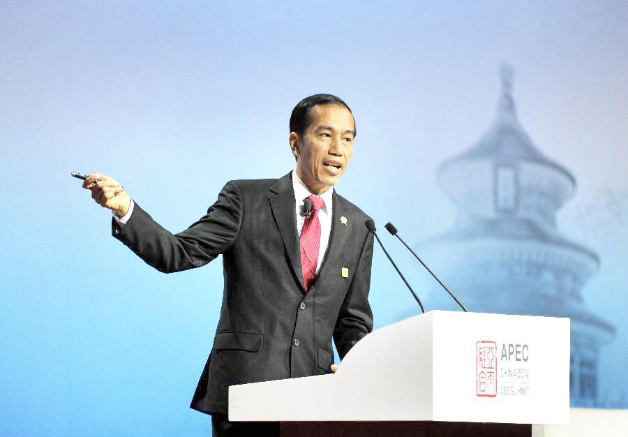 Joko Widodo APEC Speech - Xinhua