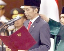 Jokowi Sworn in