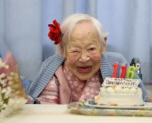 World's oldest person shares her secret to staying young on her 116th birthday